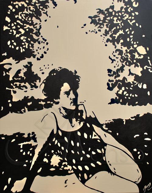 Auf der Wiese (2012) 100 x 80 cm,