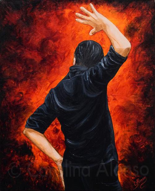 Olé hombre (2009), 100 x 80 cm