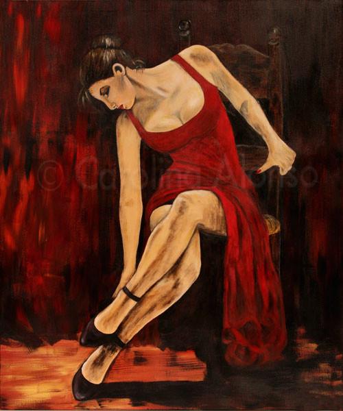 La Preparacion  (2007), 120 x 100 cm
