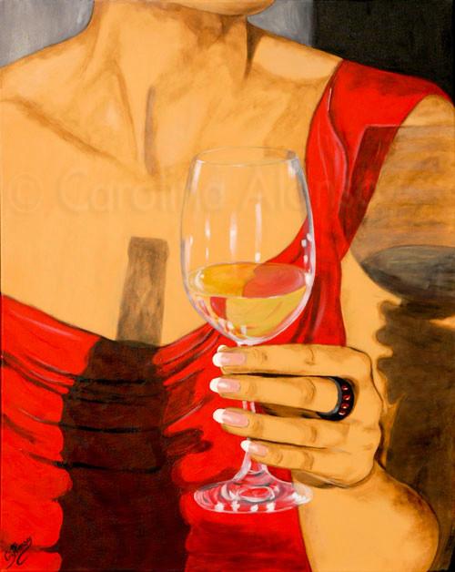 Genuss (2009) 100 x 80 cm