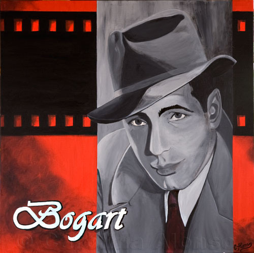 Bogart (2007), 80 x 80 cm