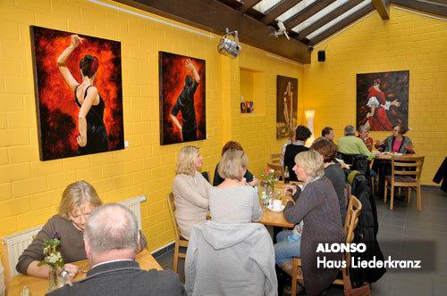 Kaffee Haus LIEDERKRANZ, BERGISCH GLADBACH, Febr.-Mai 2010