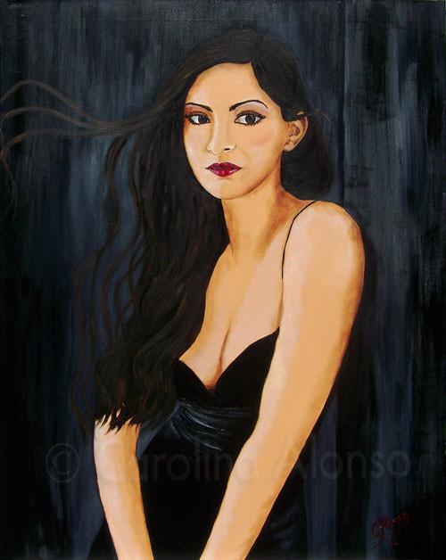 Unschuldig  (2009) 100 x 80 cm