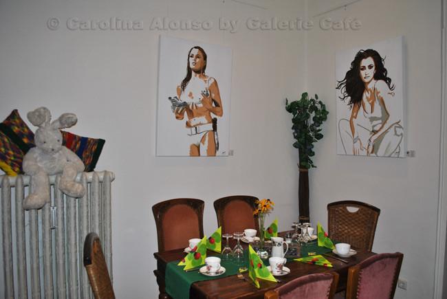 Galerie Café, Bergisch Gladbach, August 2013