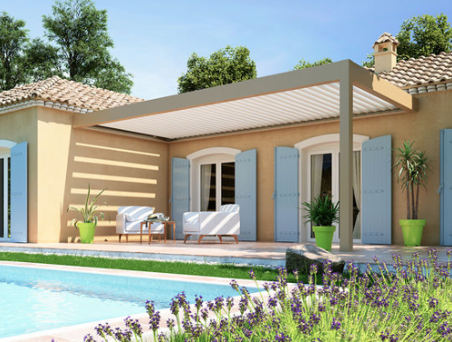 Pergola bioclimatique Bordeaux - ECORENOV MENUISERIES