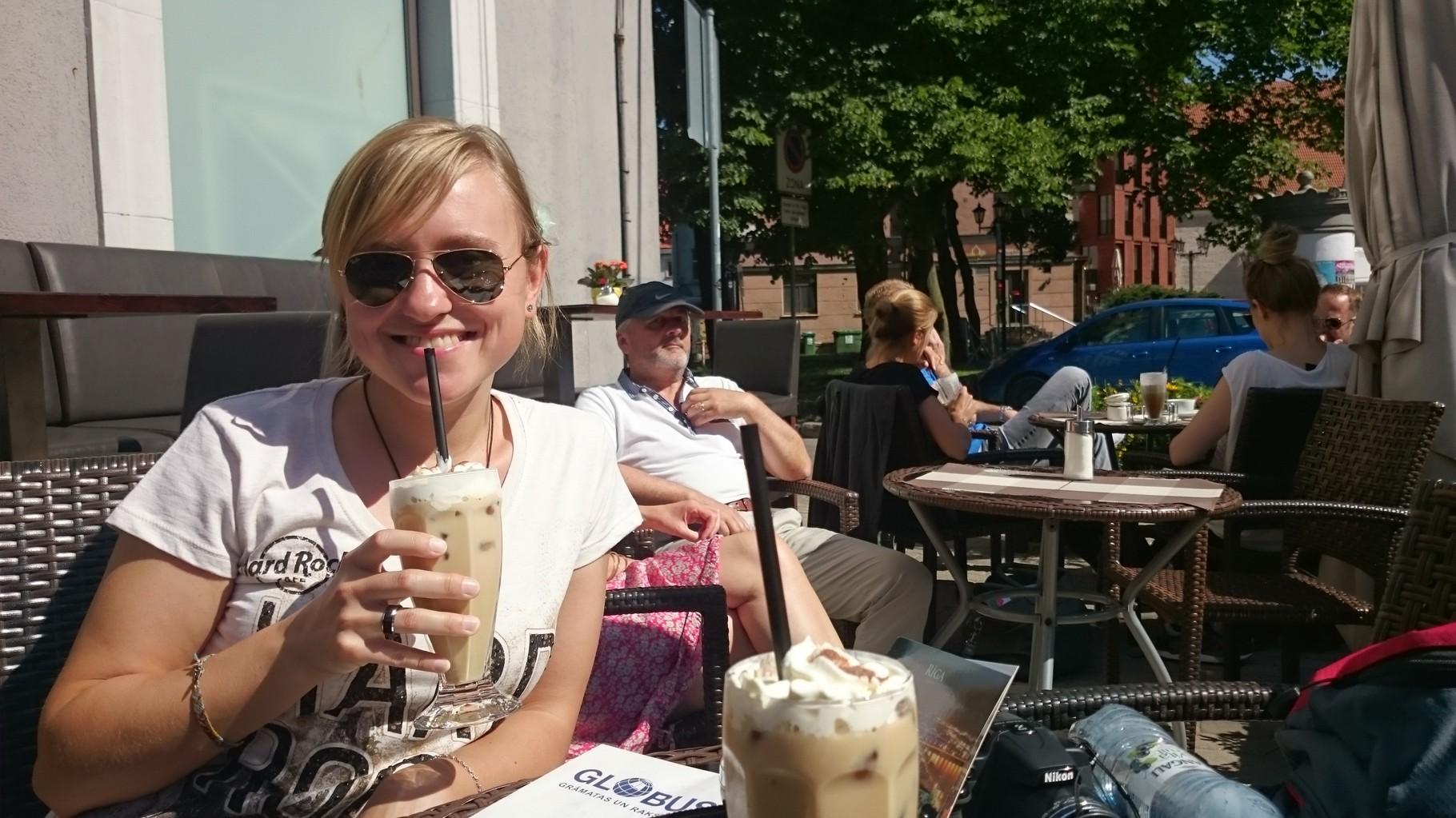 Eiskaffee....mmhh....lecker!!