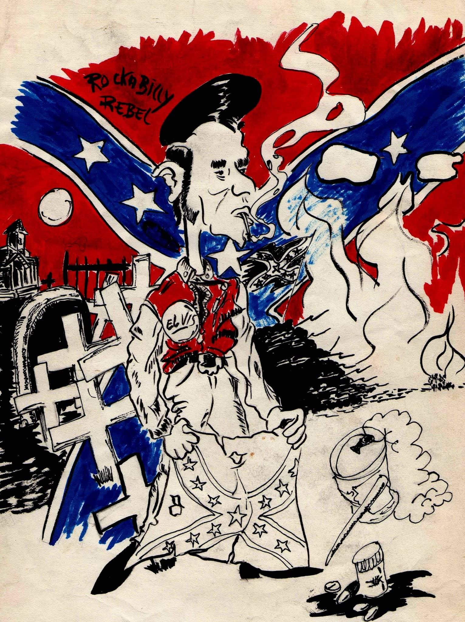 Dibujo del autor Carlitos
