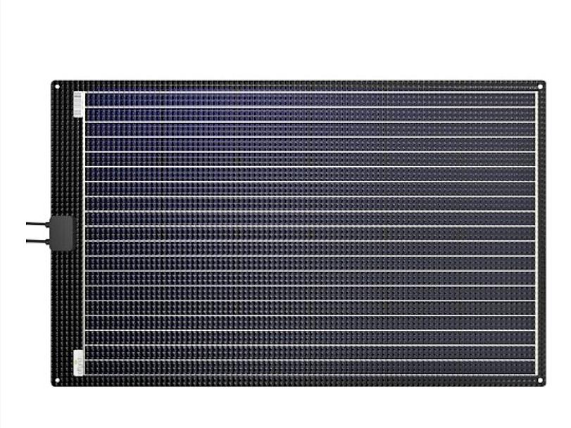 Solar Paneel Solarmodul semiflexibel ETFE-AL 120W 12V offgridtec off road overland Vanlife Wohnmobil Bus #Projektblackwolf