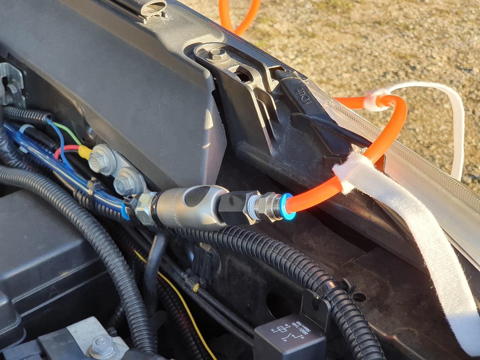 offroad ARB Kompressor CKMA12 Festmontage 75L/Min 4x4 overland Toyota Hilux overland expedition