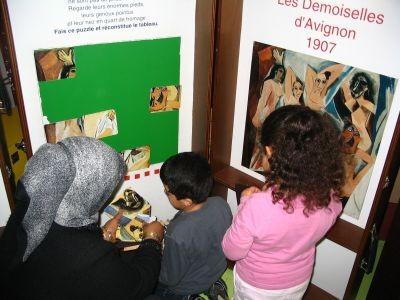 Atelier « Les tableaux de Pablo » au Musée en Herbe