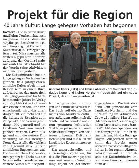 Hallo Northeim - 05.12.2020