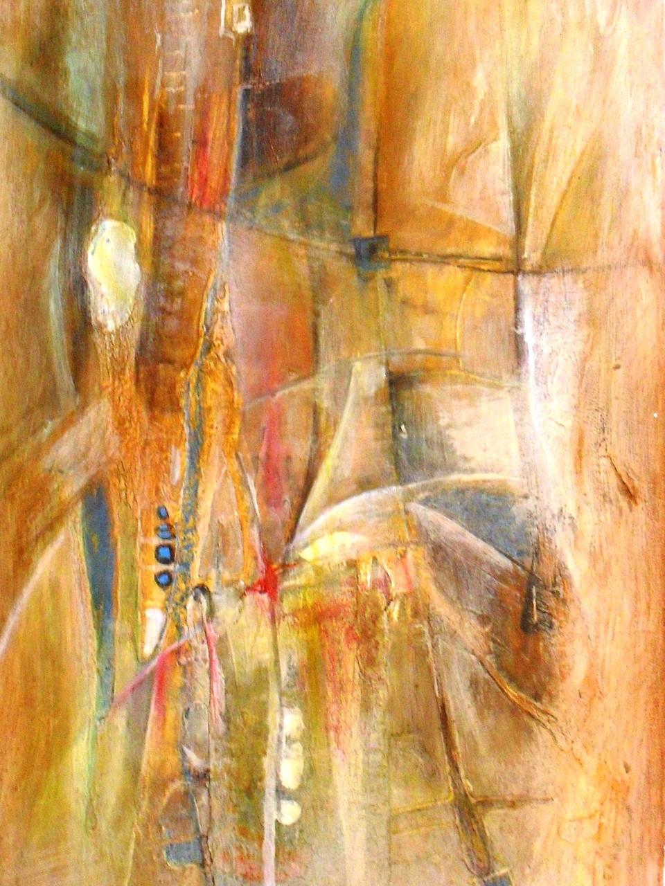 Couleurs peuhls - 2011/2012 - 60 x 110 cm - Acrylique, pastel