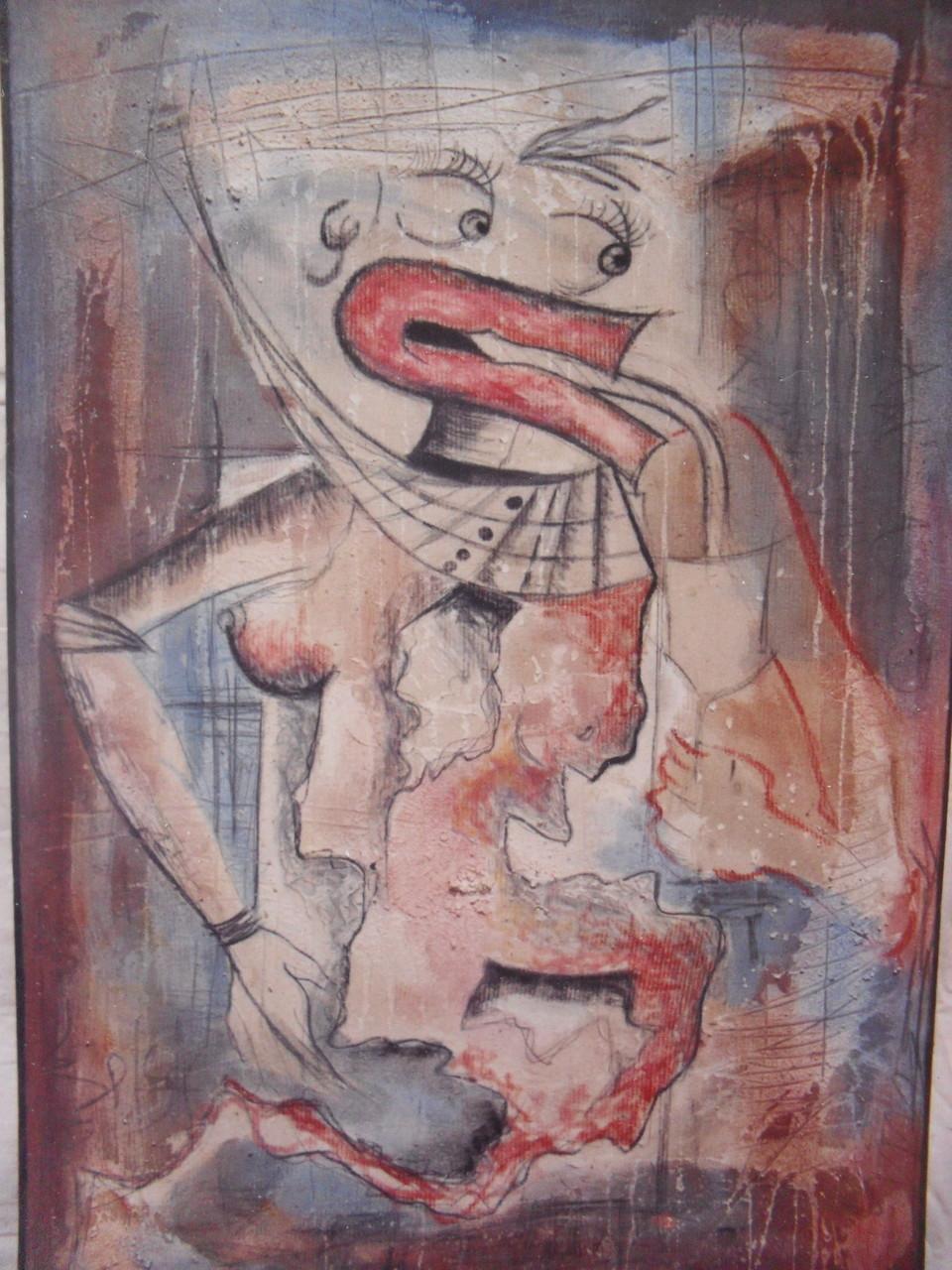 Sans titre - 2002 - Acrylique, pastel