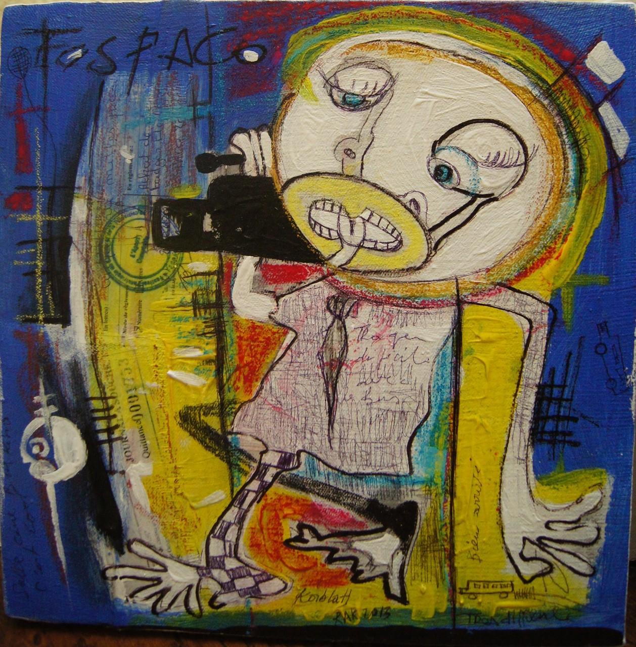 Fespaco - 2013 - 26,5 x 26,5 cm - Acrylique