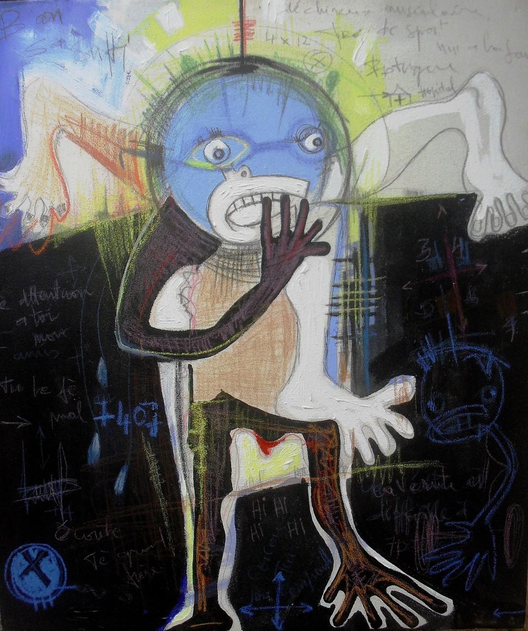 Overdose - 2013 - 60 x 70 cm - Acrylique, pastel
