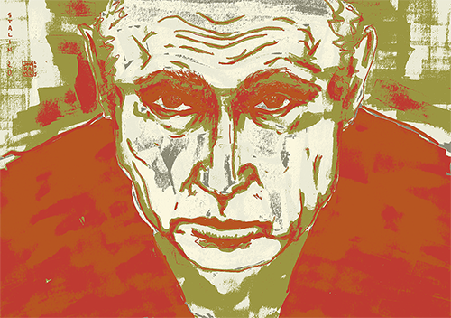 "Illustration ""Wladimir Putin"" 2015"