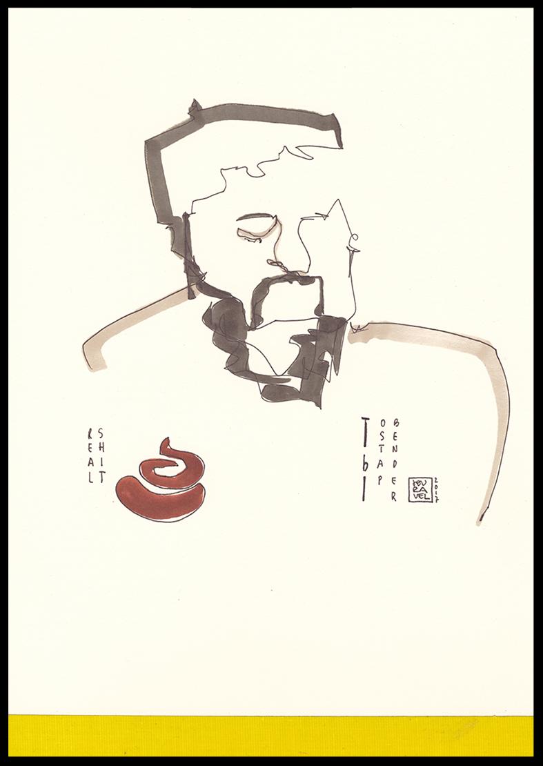 Portrait Karikatur