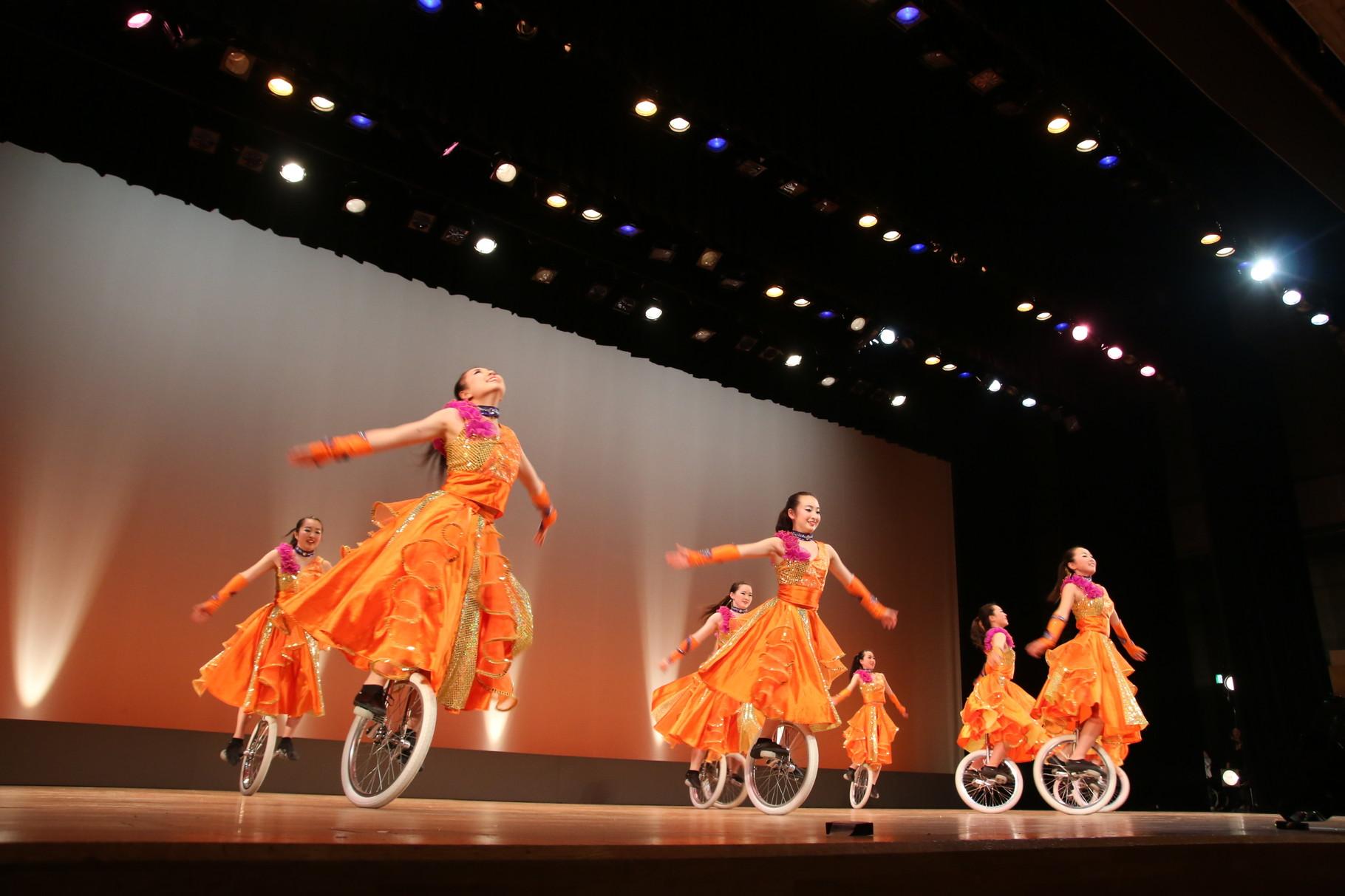 一輪車、大好き。salto、大好き