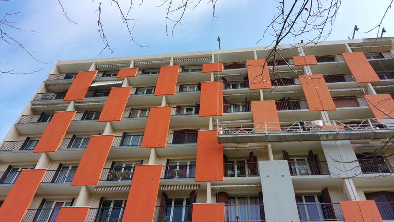 Rénovation façade copropriété