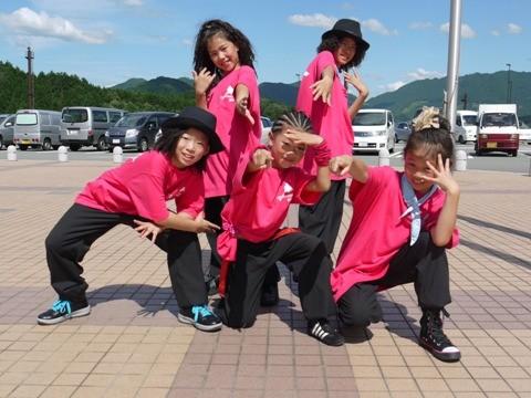 Show Case:粉もんKid's☆ミックスモダン(Miyu、Eri、Ayumi、Azusa、Ayane)
