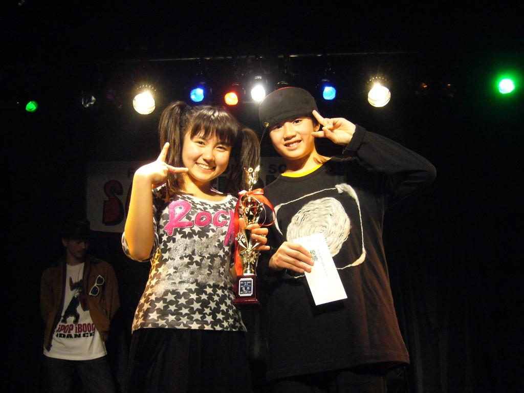 デラックマ(ゆうな、しおん)※前回(SFS VOL.5)優勝チーム