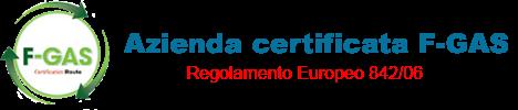 Azienda certificata f gas per installazione condizionatori e climatizzatori con dichiarazione di conformità e rilascio libretto di impianto obbligatorio per legge