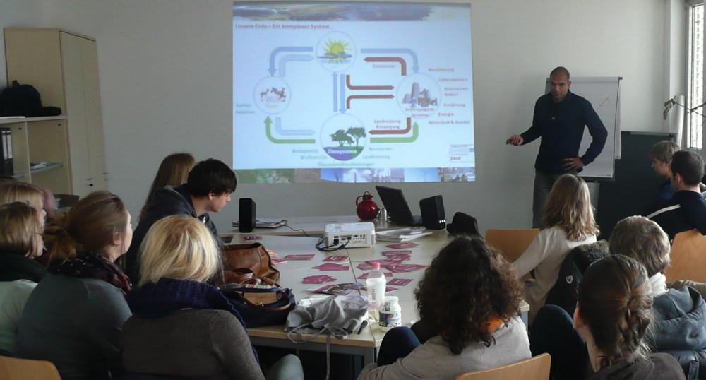 Vortrag von Stefan Rötzel im Rahmen des Wissenschaftsjahres 2012