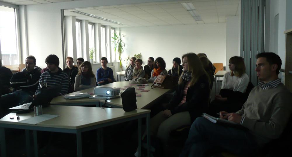 Der Leistungskurs Geographie der Jacob-Grimm-Schule zu Gast im CLIMA