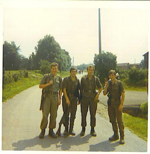 ?,  R Schmitz ,Sgt A Reinartz, R Den Tandt