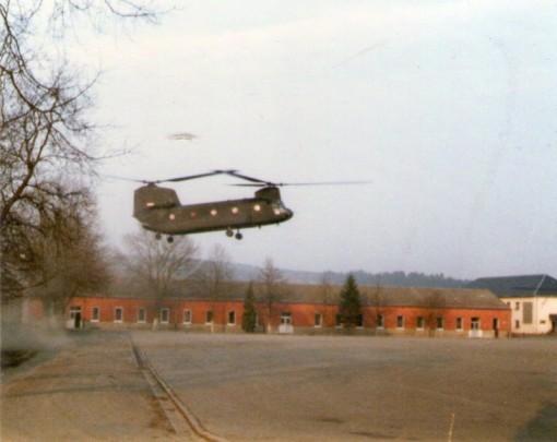 Da kommt der Wecker in's Ösling Manöver....85/86