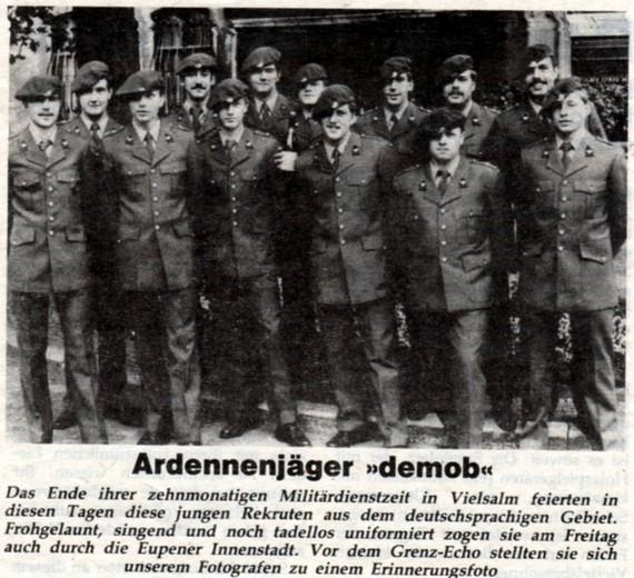 Aus dem Grenz-Echo 1984