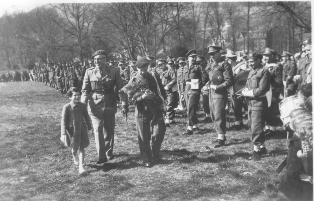 Vielsalm am 18. April 1953 neues Maskottchen