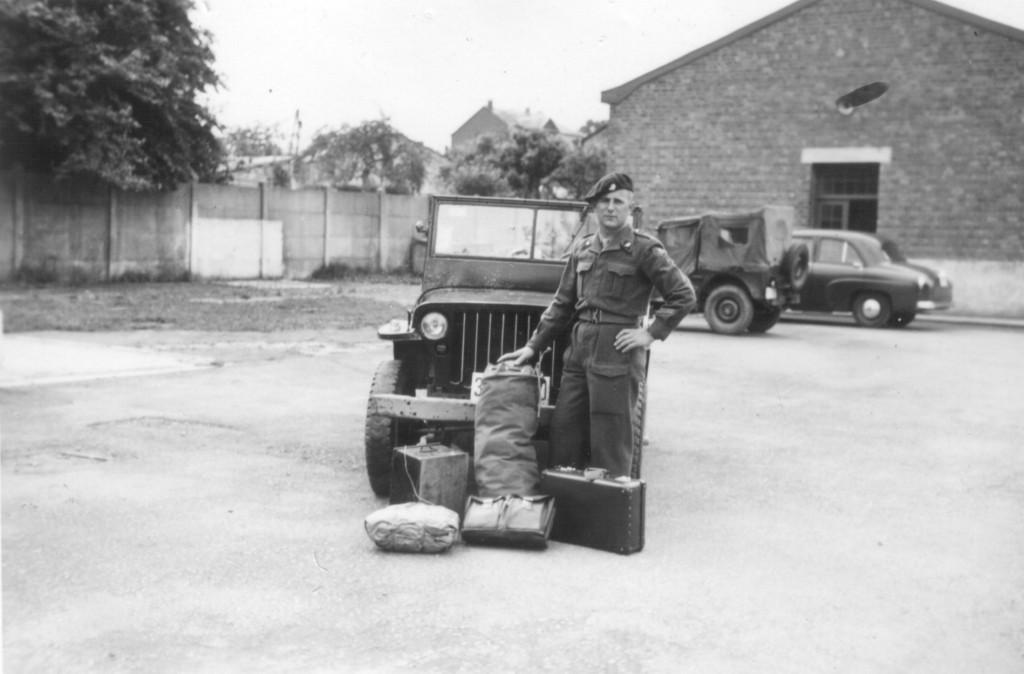 H-J Michels DEMOB am 2. Juli 1953