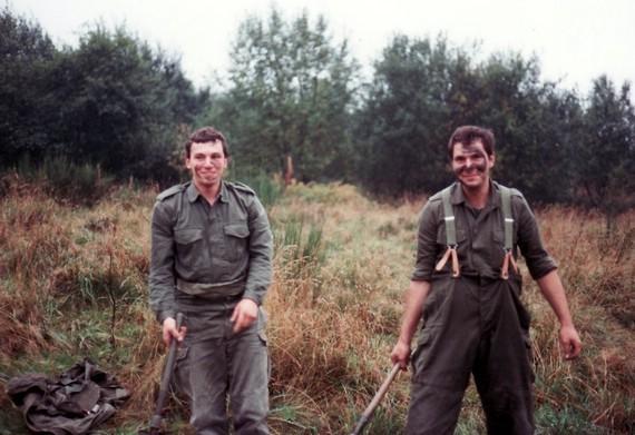 Rechts : Guido Valenta aus Bergneustadt – D mit dem ich immer noch Kontakt habe.