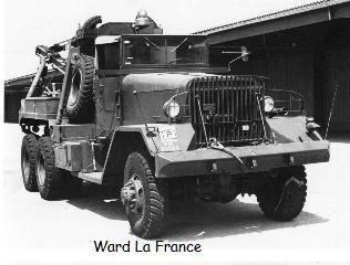 Ward La France Abschleppwagen.