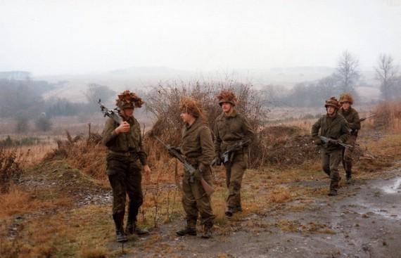 von rechts : Hoffmann, Murges, Quetsch G, Schinker und Velz der MAG Schütze