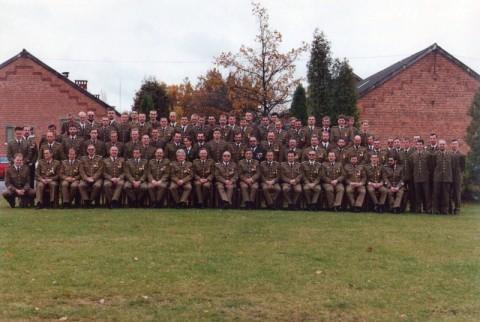 Alle Unteroffiziere der Kaserne. Datum des Fotos leider unbekannt.