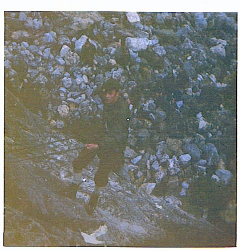 Leyens J. Abseilen Chamonix Mont Blanc 1971