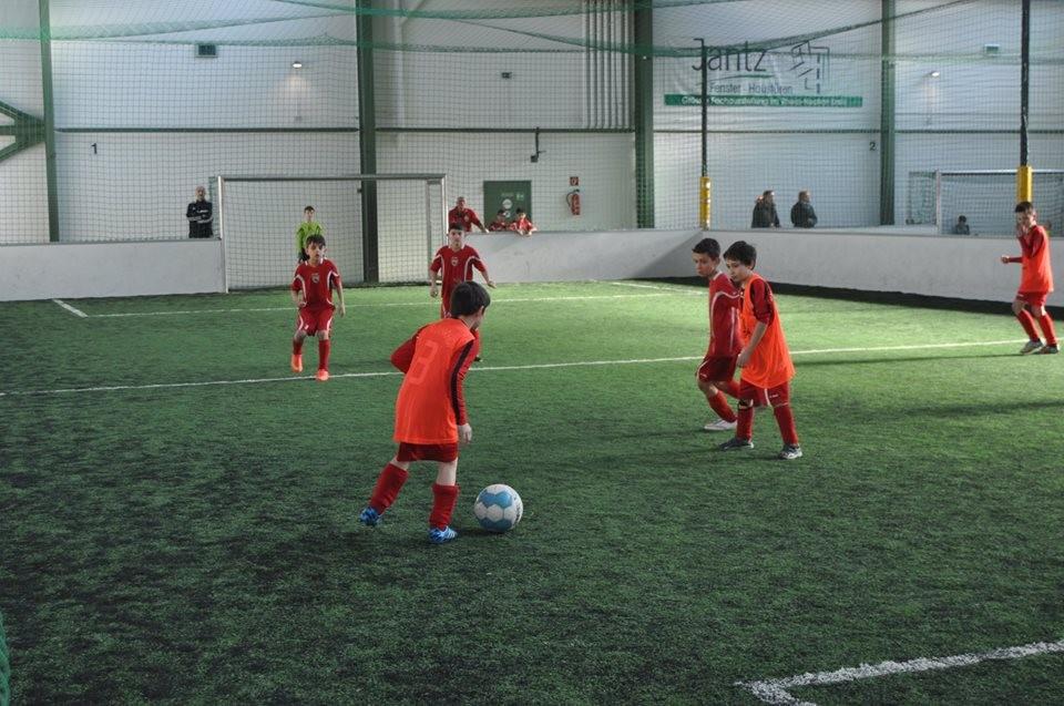 "Am Samstag, den 28. Februar, lud unsere Jugendabteilung zehn E-Jugend-Mannschaften zum ersten ""Eventhouse Weber Cup"" in die Soccerhalle Brühl."
