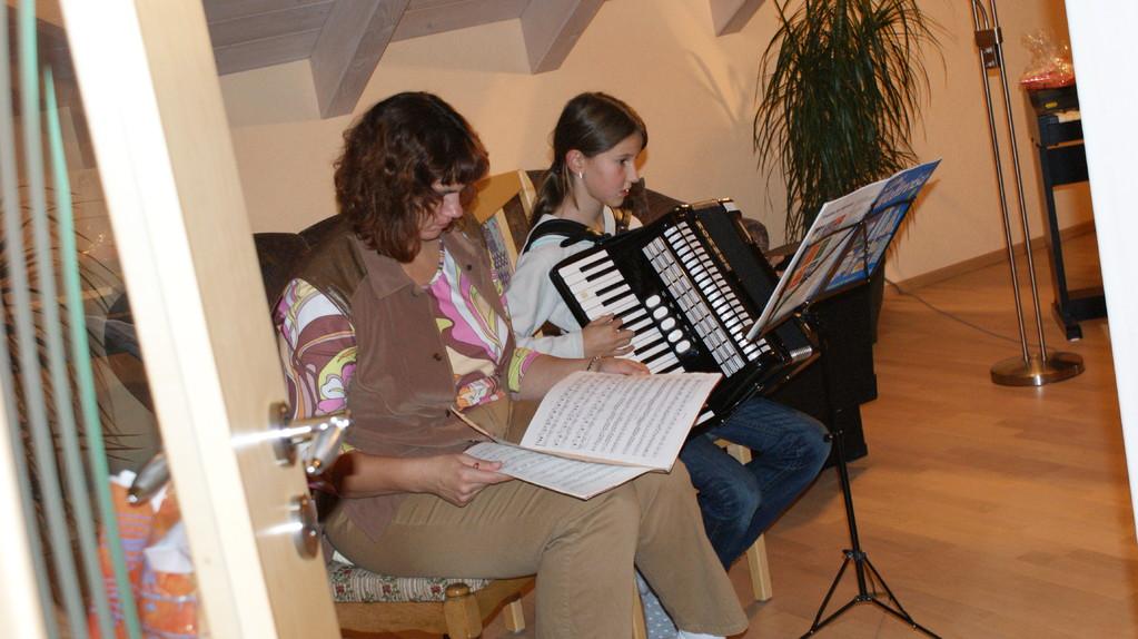 Akkordeon Unterricht Live