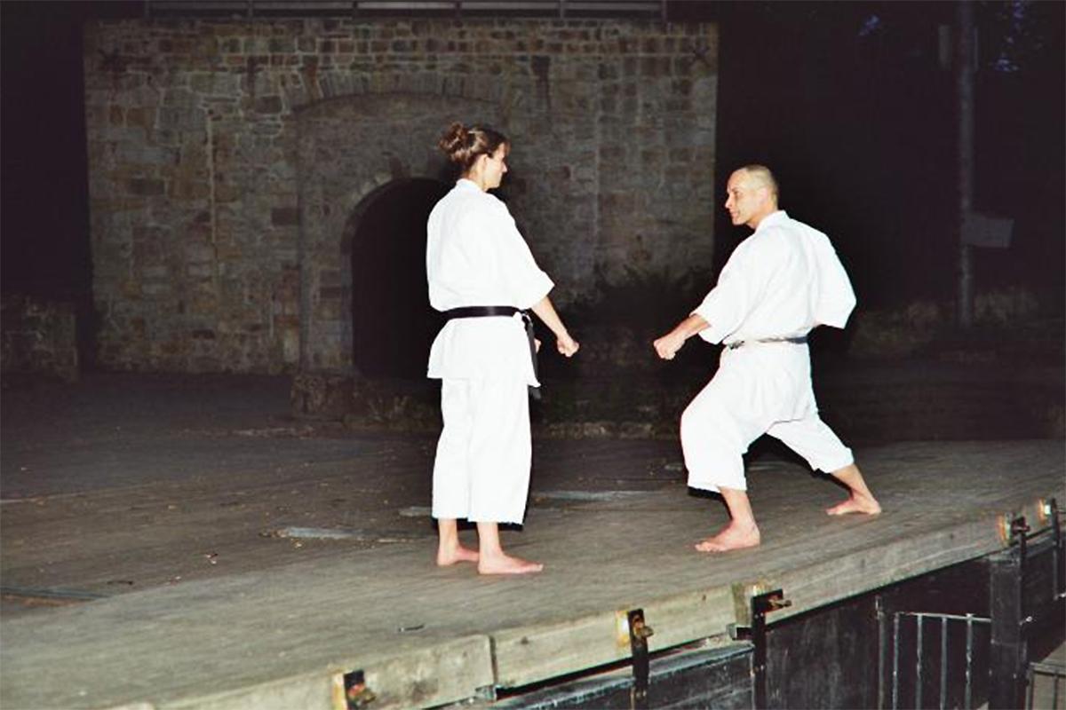 Arno und Kerstin Wagner | Kumite 3