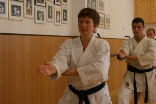 Kessener, Gisela | Karatetraining seit 2000 | 1.Dan am 03.06.2007 | 2.Dan am 24.09.2011 in Hennef