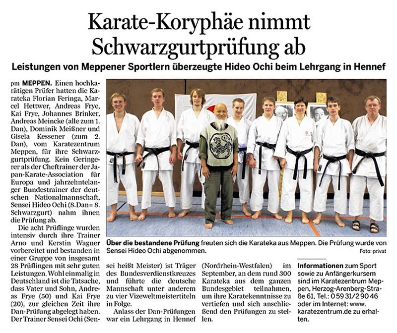 Danprüfung Hennef 30.10.2011