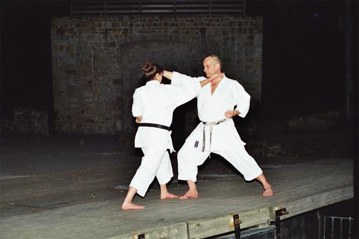 Arno und Kerstin Wagner | Kumite 8