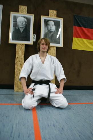 Brinker, Johannes | Karate seit 1999 | 1.Dan am 24.09.2011 bei Ochi Sensei in Hennef