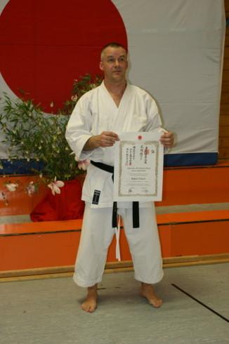 Dietrich, Wolfram | Karatetraining seit 1983 | 1. Dan am 03.06.2007 | 2. Dan am 09.04.2011