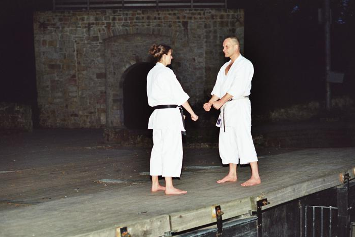 Arno und Kerstin Wagner | Kumite 2