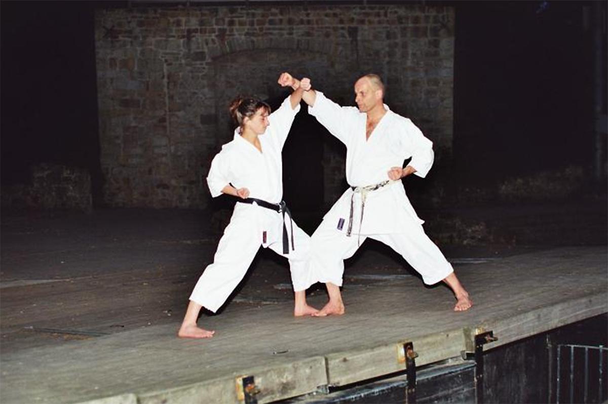 Arno und Kerstin Wagner | Kumite 6