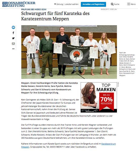 Danprüfungen Münster 13.05.2017, EL-NEWS-online am 30.06.2017
