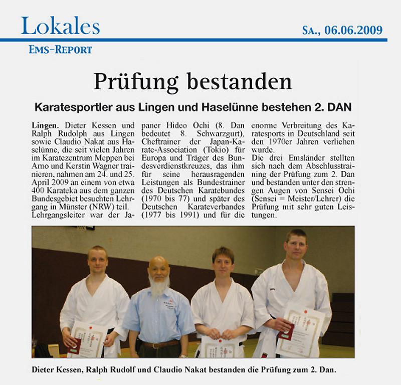 Nidanprüfung 06.06.2009